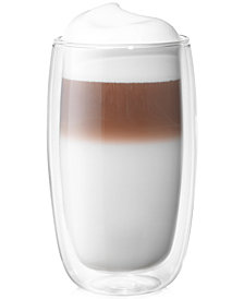 Zwilling J.A. Henckels Sorrento Double Wall Latte Glasses, Set of 2