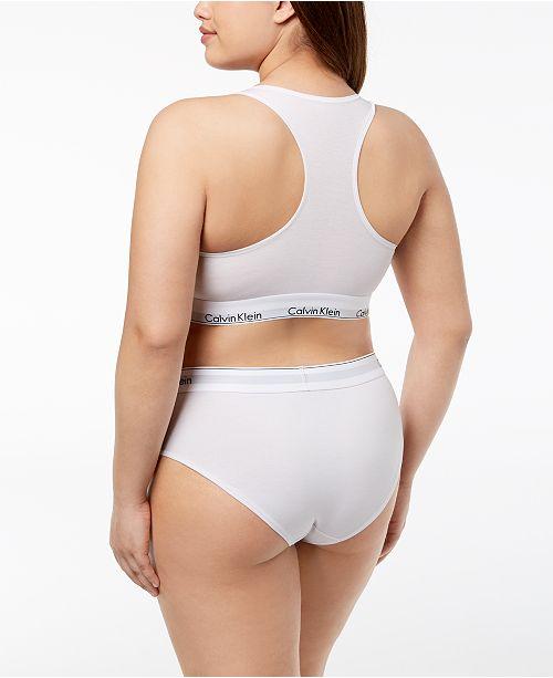 15078c0b9a2 ... Calvin Klein Plus Size Unlined Bralette