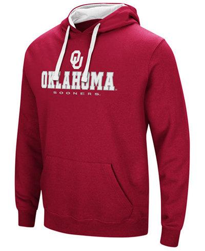 Colosseum Men's Oklahoma Sooners 3 Stack Logo Hoodie