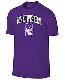 Retro Brand Men's Northwestern Wildcats Midsize T-Shirt