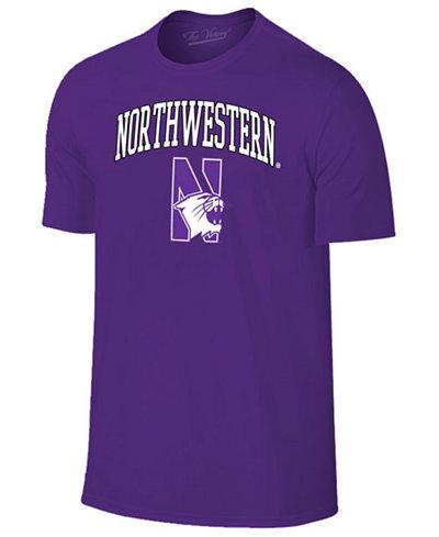 Retro Brand Men's Northwestern Wildcats Midsize T-Shirt