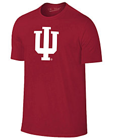 New Agenda Men's Indiana Hoosiers Big Logo T-Shirt