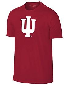 New Agenda Men's Indiana Hoosiers Big Logo T-Shirt