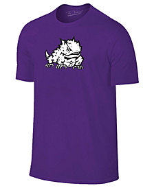 New Agenda Men's TCU Horned Frogs Big Logo T-Shirt