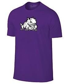 New Agenda Men's TCU Horned Frogs Big Logo T-Shirt