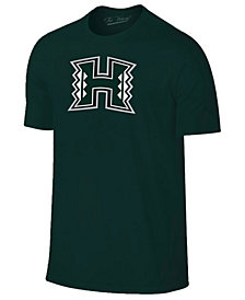New Agenda Men's Hawaii Warriors Big Logo T-Shirt