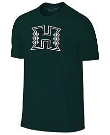 New Agenda Men's Hawaii Warriors Big Logo T-Shirt