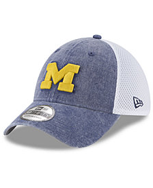 New Era Michigan Wolverines Washed Neo 39THIRTY Cap
