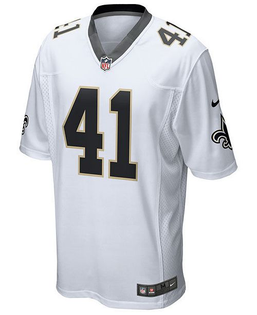 half off 31404 0e8dc Men's Alvin Kamara New Orleans Saints Game Jersey