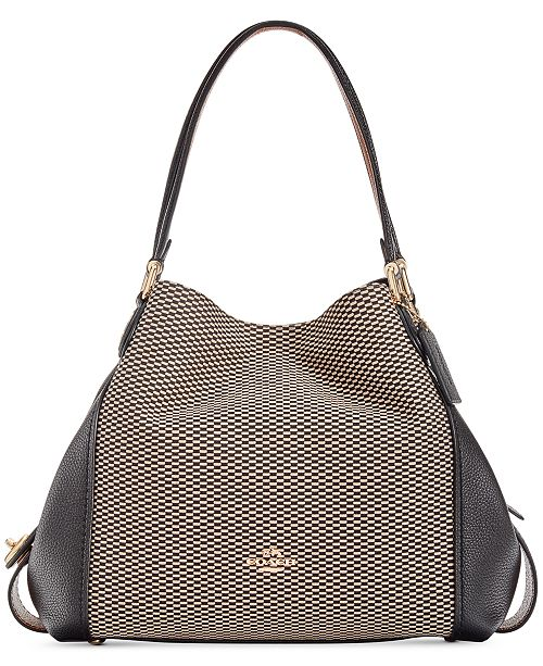 COACH Legacy Jacquard Edie 31 Medium Shoulder Bag   Reviews ... 721f046c285cf
