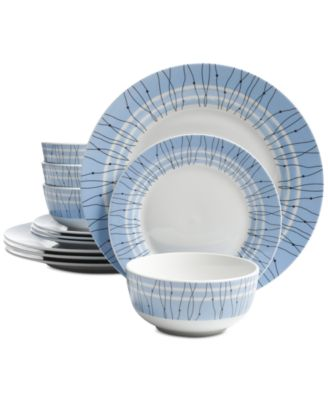 Gibson Classic Blue 12-Pc. Dinnerware Set Service for 4  sc 1 st  Macy\u0027s & Gibson Classic Blue 12-Pc. Dinnerware Set Service for 4 ...