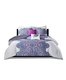 Mila 5-Pc. Full/Queen Comforter Set