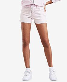 Levi's® Wedgie High-Rise Denim Shorts