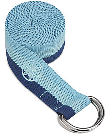 Gaiam Tri-Color Yoga Strap