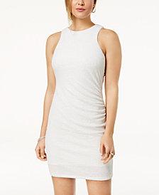 Speechless Juniors' Glitter Open-Back Dress, Created for Macy's