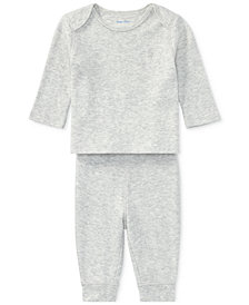 Ralph Lauren Cotton Top & Pants Set, Baby Boys