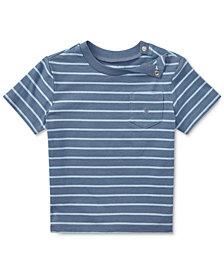 Polo Ralph Lauren Striped Cotton T-Shirt, Baby Boys