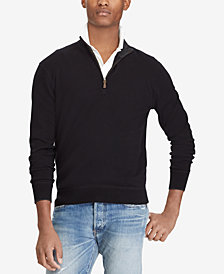 Polo Ralph Lauren Men's Half-Zip Cashmere Sweater