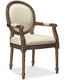 Freeman Accent Chair, Quick Ship