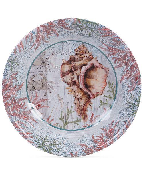 Sanibel Melamine Large Serving Bowl