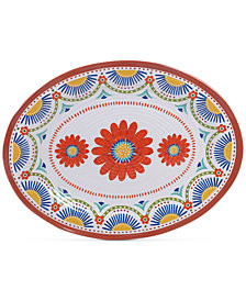 Certified International Vera Cruz Melamine Oval Platter