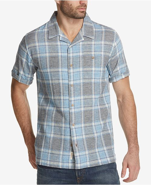 Weatherproof Vintage Men's Plaid Shirt