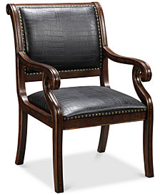 Denzal Accent Chair, Quick Ship