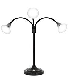 3 Head Desk LED Lamp