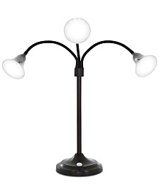 Lavish Home 3 Head Desk LED Lamp