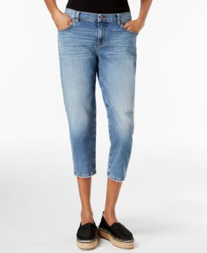 Eileen Fisher Cropped Tapered-Leg Jeans 5934829