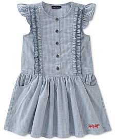 Tommy Hilfiger Ticking Striped Dress, Toddler Girls
