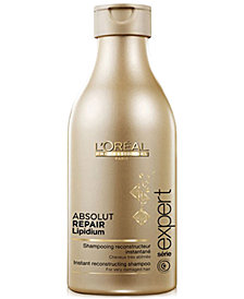 L'OREAL Professional Série Expert Absolut Repair Lipidium Instant Reconstructing Shampoo, 8.45-oz., from PUREBEAUTY Salon & Spa