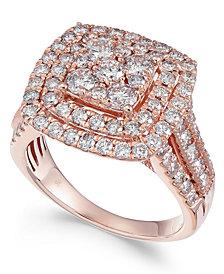 Diamond Multi-Level Composite Engagement Ring (2 ct. t.w.)