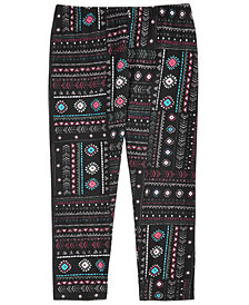 Epic Threads Geo-Print Leggings, Big Girls, Created for Macy's