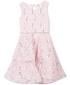Speechless Sequin Lace Dress, Toddler Girls