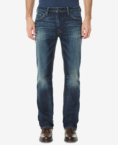 Buffalo David Bitton Men's Driven Relaxed Straight Fit Jeans