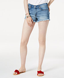 7 For All Mankind Denim Cut Off Shorts