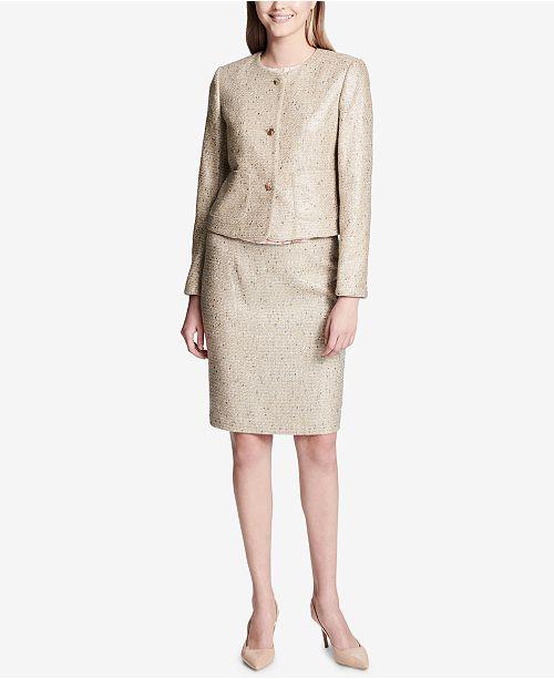 1404c9e4771 Calvin Klein Tweed Blazer   Pencil Skirt   Reviews - Wear to Work ...