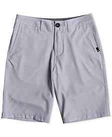 Quiksilver Union Pinstripe Amphibian Shorts, Big Boys