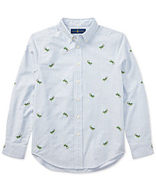 Polo Ralph Lauren Cotton Oxford Shirt, Big Boys