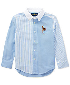 Ralph Lauren Oxford Shirt, Little Boys