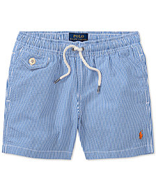 Polo Ralph Lauren Striped Traveler Swim Trunks, Toddler Boys