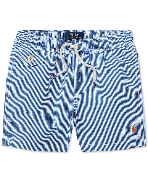 c677d56031d80 Polo Ralph Lauren Striped Swim Trunks, Little Boys & Reviews ...