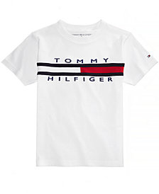 Tommy Hilfiger Graphic-Print Cotton T-Shirt, Little Boys