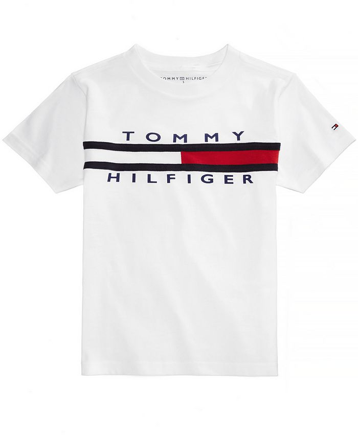 Tommy Hilfiger - Graphic-Print Cotton T-Shirt, Little Boys