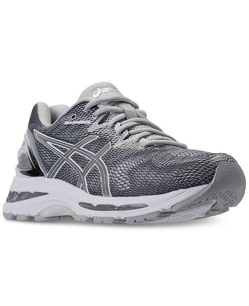 Asics Women's GEL-Nimbus 20 Platinum Running Sneakers from ...