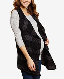 Jessica Simpson Maternity Open-Front Vest