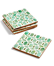 Global Goods Partners Set of 4 Trellis Coasters