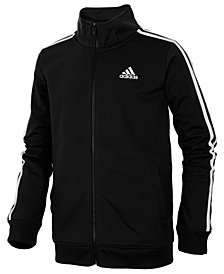 adidas Iconic Zip-Up Tricot Jacket, Toddler Boys