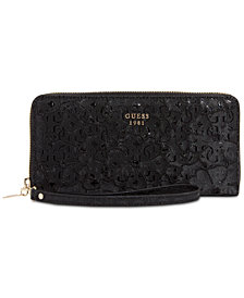 GUESS Jayne Large Zip Around Wallet